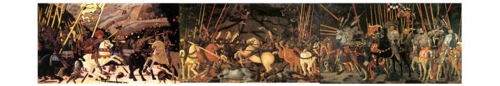 les trois batailles de San Romano