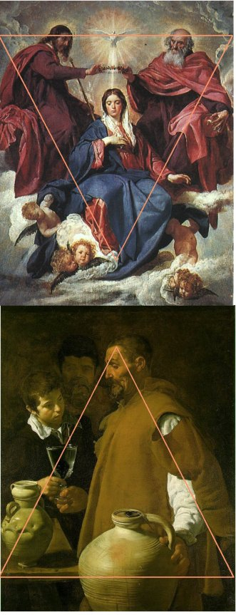 Les deux aspects d'un même culte. Marie comme déesse et Marie symbolisée par la jarre terrestre contenant l'eau..passage d'un monde ancien à un monde nouveau. Comme la métaphore du Moulin Mystique de Véselay, c'est la symbolique du passage de l'Ancien au Nouveau testament.