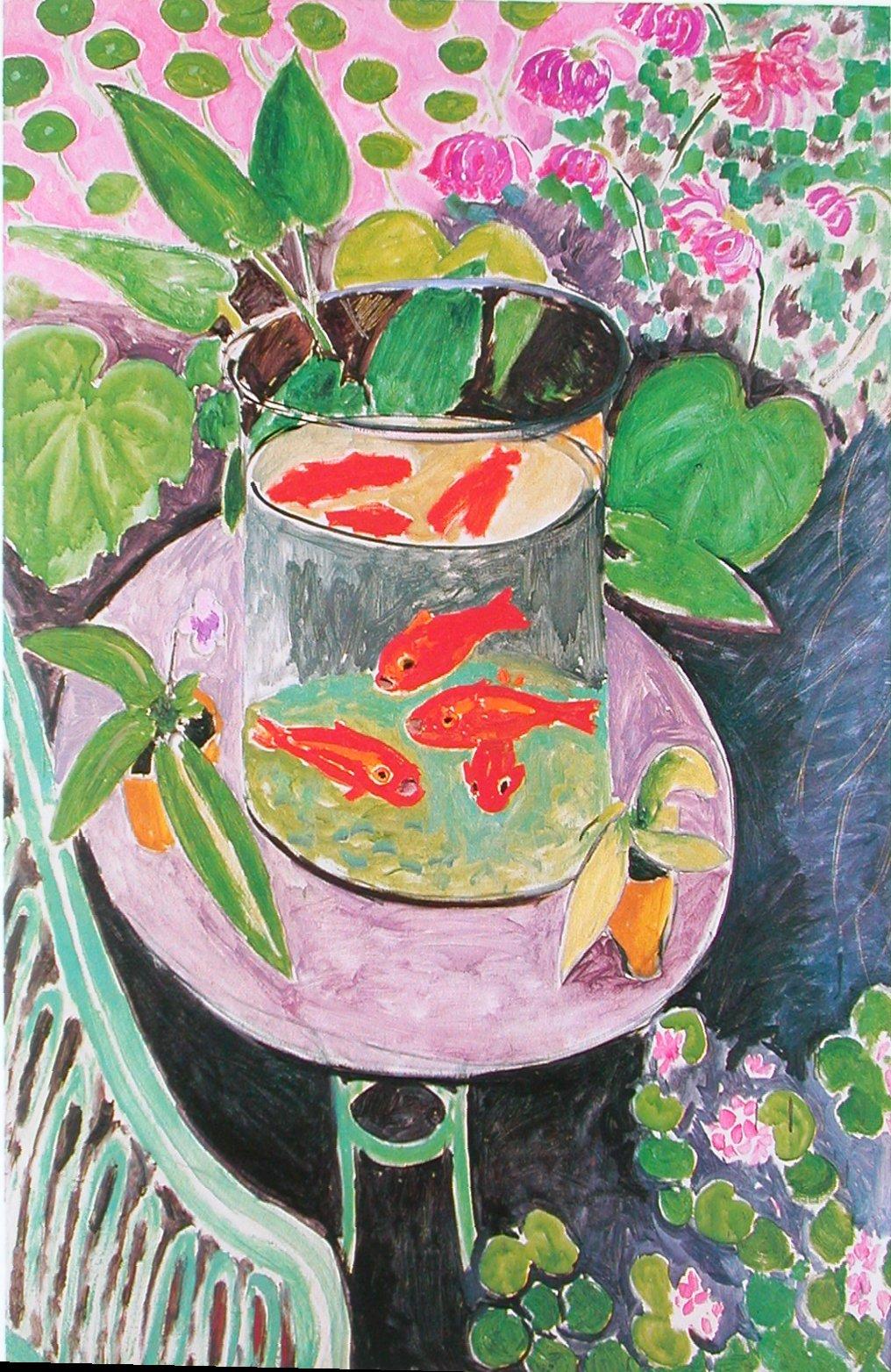 Le blog du jaime fran ais henri matisse s lection de for Bocal mural poisson