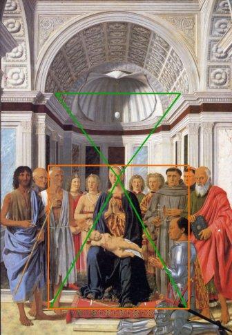bu Piero, madone entourée de saints