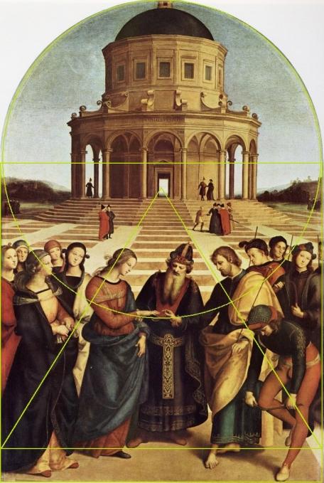 Raphaël reprend clairement avec plus de concision le modèle du Perugin.