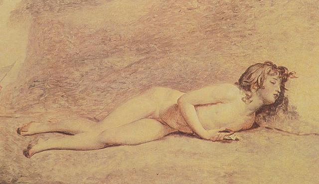 David se retourne vite vers les figures de sacrifiés ; ici le jeune Joseph Bara, agneau/Isaac etc....peint en 1794 ; David s'écarte des grandes idées générales pour trouver des substituts émotifs ; renouant là avec une sensibilité chrétienne.