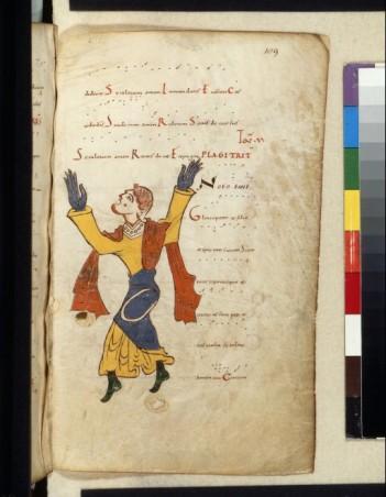11ème, un tonaire ( traité de musique) caractéristique par les couleurs de l'influence espagnole.