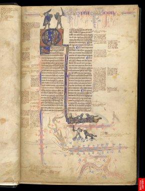 Autre aspect de cette homogénéisation , texte, commentaires et illustrations, densifient un texte précieux d' Aristote..l'héritage grec circule.
