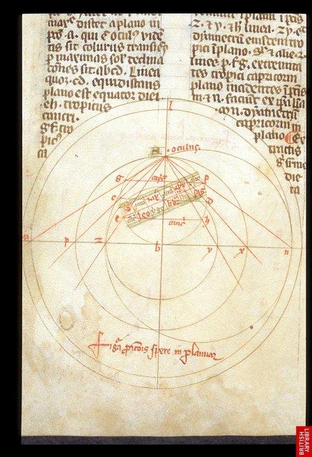 précision remarquable de ce traité de géométrie du 14e.