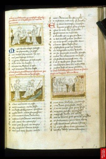 Le Roman de la Rose toujours, tradition germanique sans doute. Illustrations fluides à dominante graphiques.
