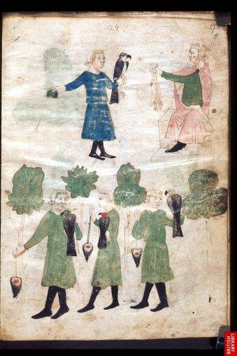 Traité de fauconnerie du 14ème.