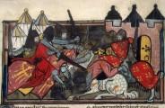 14,benoît de sainte-maure, roman de troie, Paris,Bataille entre Grecs et Troyens3