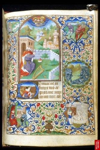 15ème, Livre d'heures parisien ; les plus célèbres sontdes frères Limbourg, mais il en existe des centaines, de style très proche.