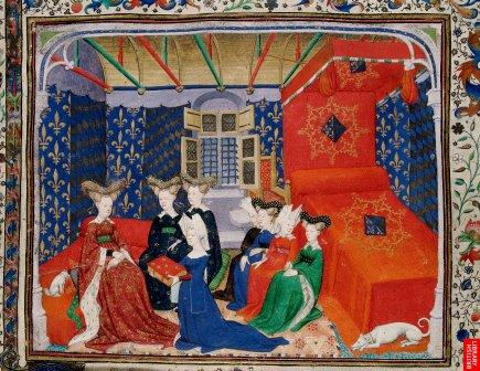 Christine de Pisan, poète, écrivain, philosophe érudite, est largement lue, publiée et reconnue ; elle se bat entre autre pour lareconnaissance des femmes dans l'histoire de l'humanité. Elle fut aussi conseillère de Charles V et VI. Ici, une représentation de grande qualité de son univers.