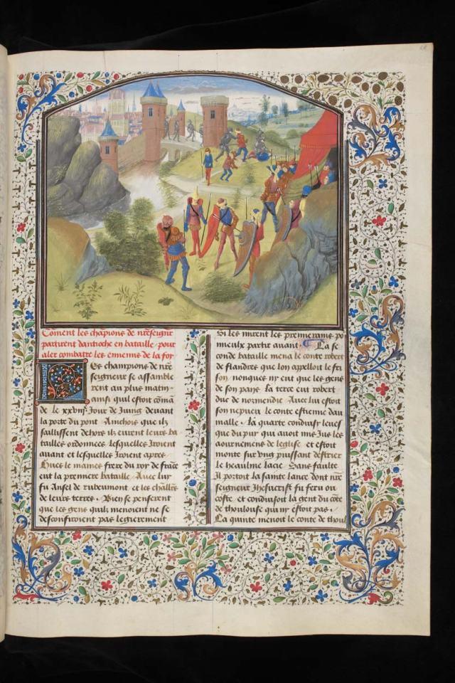 15e, Guillaume de Tyr, Histoire des Croisades par Simon Marmion