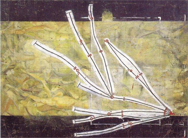 le réseau de stoppage et les points de repères constituent une constellation de 9 points quel'on retrouve souvent, y compris dans les 9 coups tirés.