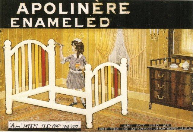 """apollinaire-madeleine, avec un """"i"""".....comme les montants du lit..."""