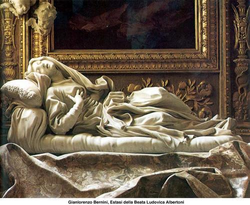 autre sculpture du Bernin, ou le marbre est encore agité.