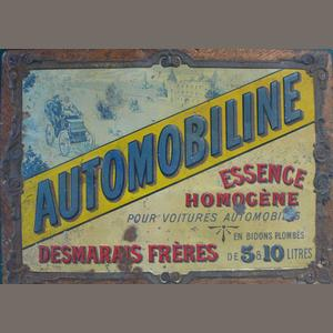 Véritable publicité de 1904..Esthétique proche de Sapolin...Les frères Desmarais pour avancer...des célibataires dans leur drôle de machine.