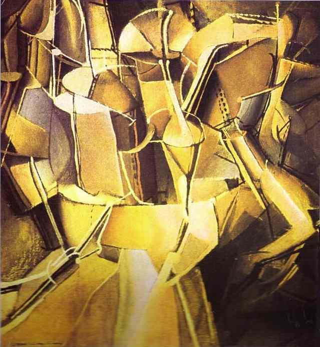 Marcel Duchamp 1912 Le Passage de la Vierge à la Mariée