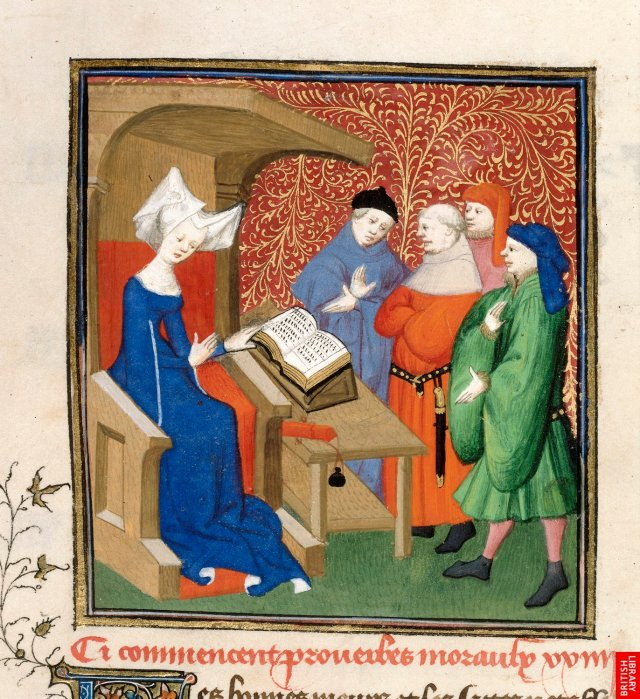 15 Christine de Pizan , Various works 78 Woman reading