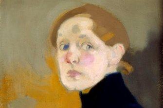 Magnifique autoportrait de la virtuose Hélène Schjerfbeck, finlandaise à redécouvrir.