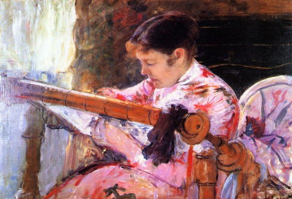 aiCassatt_Mary( 1844-1926à_Lydia_at_the_Tapestry_Loom_c._1881