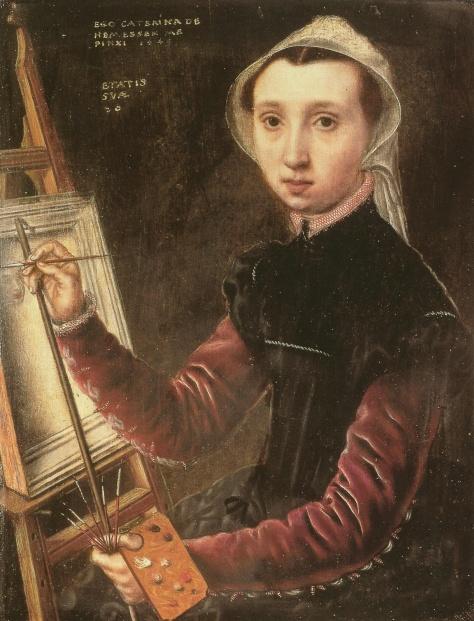 asbcatherine-van-hemessen-1528-1587-selbstbildnis-1548