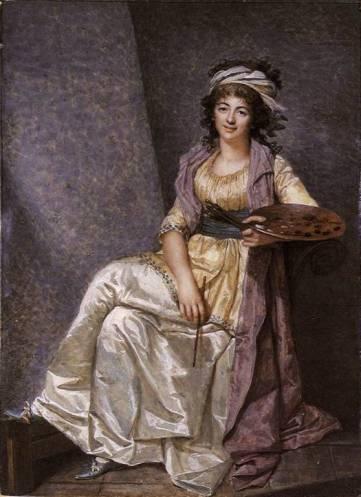 Marguerite Gerard, auteure également d'un portrait de Danton.