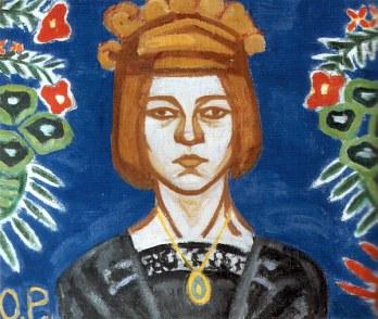 Olga Rozanova ( 1886-1918)l'une des très nombreuses artistes constructiviste russe. Génération influente sur toute l'avant garde ( Triolet-Gala-Sonia Delaunay par ex.)