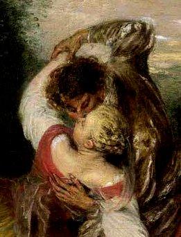Watteau, la bonne surprise, détail....même visage, même situation dominante