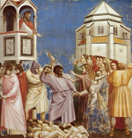 Giotto, le massacre des innocents