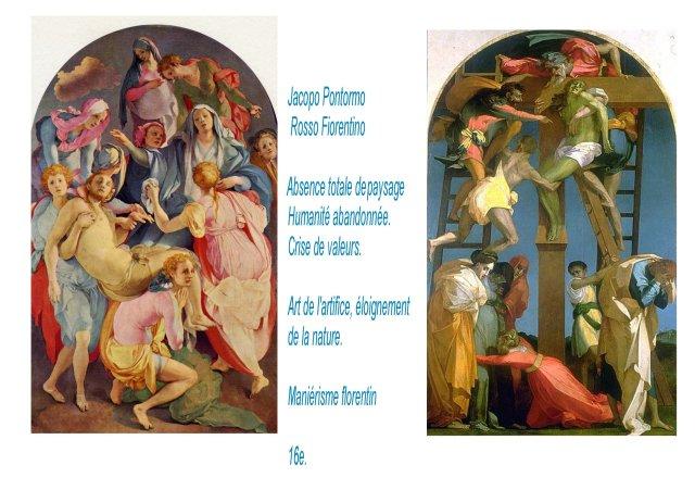 bg Pontormo Jacopo , Rosso -paniques