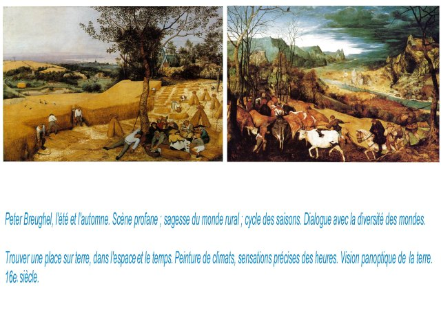 br Breughel, Sagesse saisons