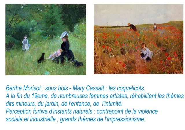 i a Berthe Morisot, Mary Cassatt
