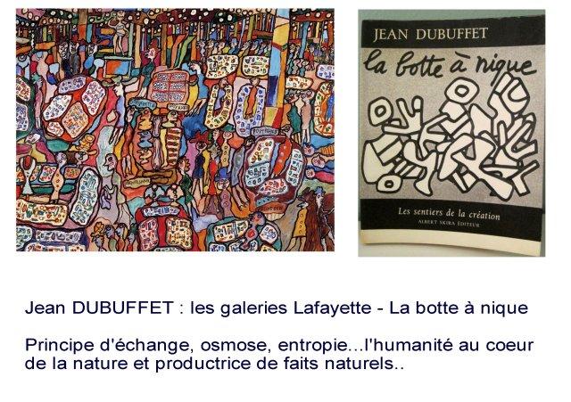 Jean DUBUFFET, Galeries Lafayette, 1961,