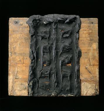 cette première ébauche de la Porte de l'enfer relève du même getse que la figure de Balzac ; de la partie au tout Rodin opère semble t-il selon un même élan intuitif de la pression, de la manipulation.