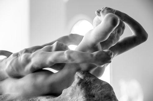 Rodin, le Rêve ou Fugit Amor..oeuvre très ouverte, en expansion.