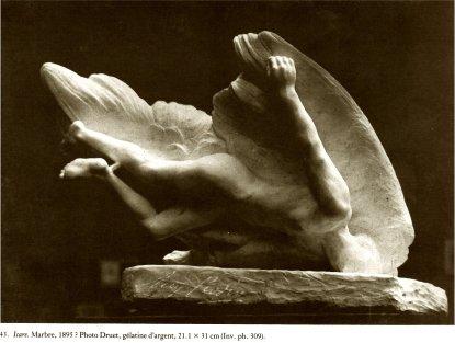 "EN renversant sa ""martyre"", Rodin la transforme en Icare chutant..."