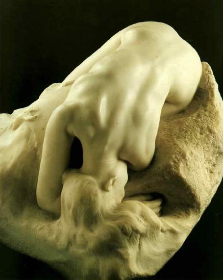 La danaïde est l'unedesoeuvres les plus emblématique du travail sur la peau, la surface , l'intimité.